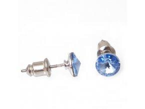 Rivola Vista I - Light Sapphire - náušnice puzeta  «F»
