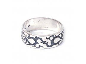 Dragon - prsten stříbro 925 (Velikost 65)
