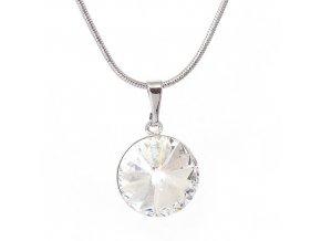 Rivola Vista - Crystal - náhrdelník s přívěskem  «F»