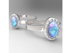 opal blue prosten