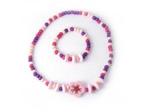 Lovely I - set náhrdelníku a náramku