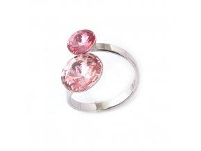 Rivoli Dance Duo Rose - prsten  «F»