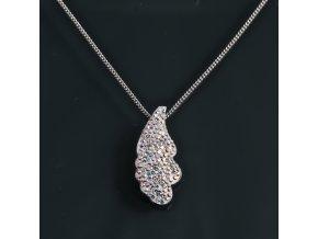 Cloud - náhrdelník s přívěskem (F)  «F»