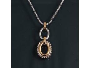 Dias - Y náhrdelník s přívěskem (F)  «F»