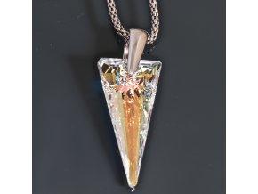Janet - náhrdelník s přívěskem  «F»