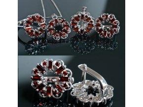 Giada 6 - granátový šperk