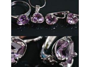 Ariana 2 - ametystový šperk