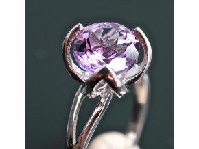 Ariana 3 - ametystový prsten