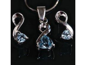 Mattia 3 - topazový šperk