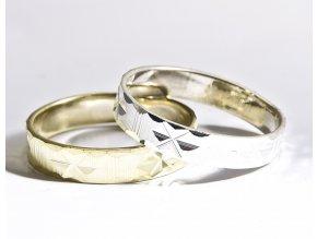 Friend Star- prsten stříbro 925/1000 (Materiál Stříbro 925, Velikost 75)