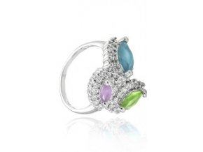 Bobette - prsten  stříbro 925/1000'