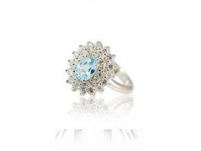 Daphne - prsten  stříbro 925/1000'