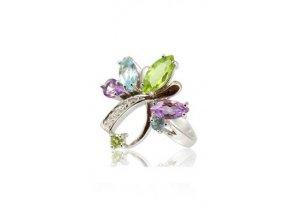 Elyse - prsten  stříbro 925/1000'