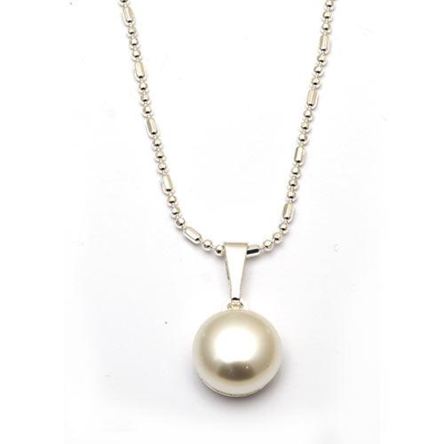 Mugle - náhrdelník bílý