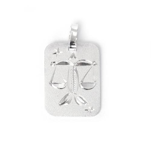 Destička Váhy - přívěsek horoskop - stříbro 925/1000 Materiál: Stříbro 925