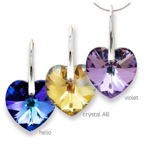Galon - přívěsek stříbro 925/1000 Barva kamene: Crystal AB