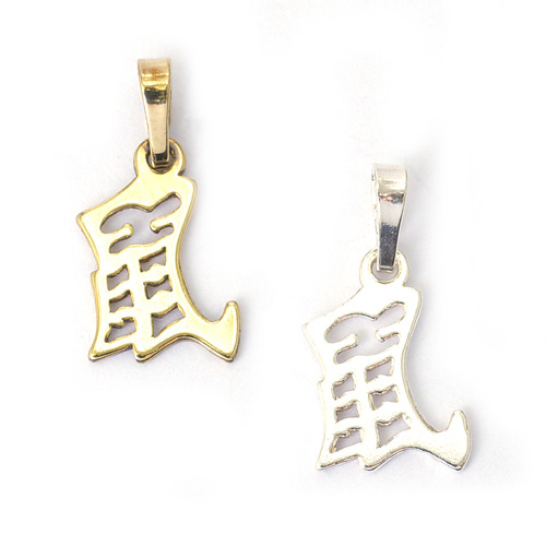 Krysa - znamení čínského horoskopu - stříbro 925/1000 Materiál: Stříbro 925