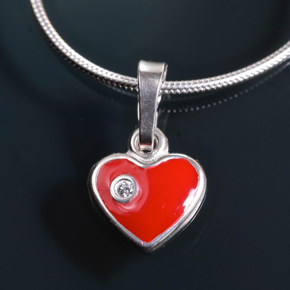 Valentino - přívěsek stříbro 925/1000 Materiál: Stříbro 925