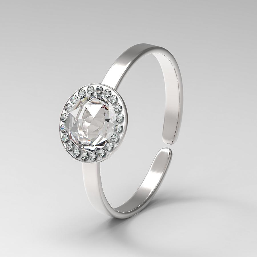 ecdea0bbeef ROYAL CRYSTAL - prsten stříbro 925 1000