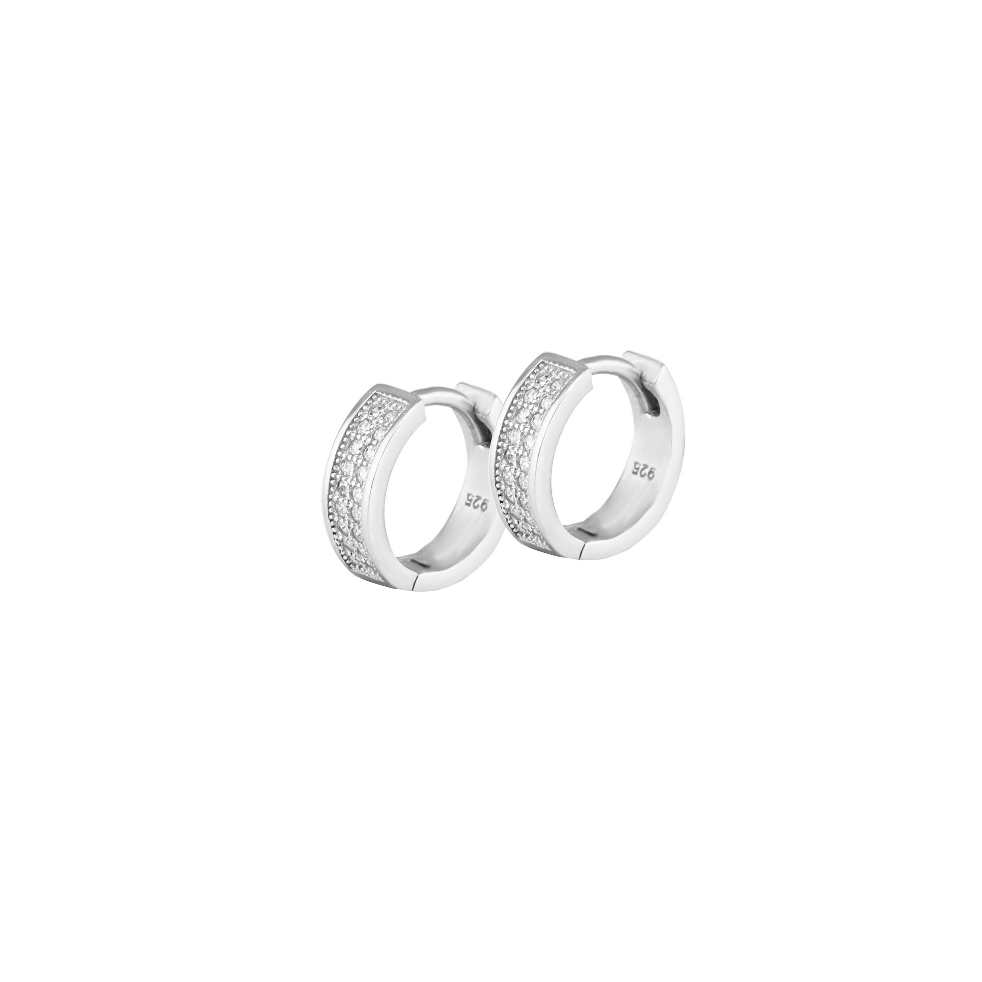 Kruhy Sabra - náušnice stříbro 925/1000'