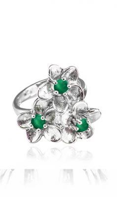 Euna - prsten stříbro 925/1000' Velikost prstenu: 60