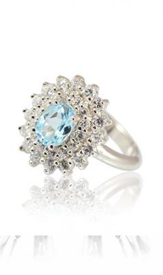 Daphne - prsten stříbro 925/1000' Velikost prstenu: 57