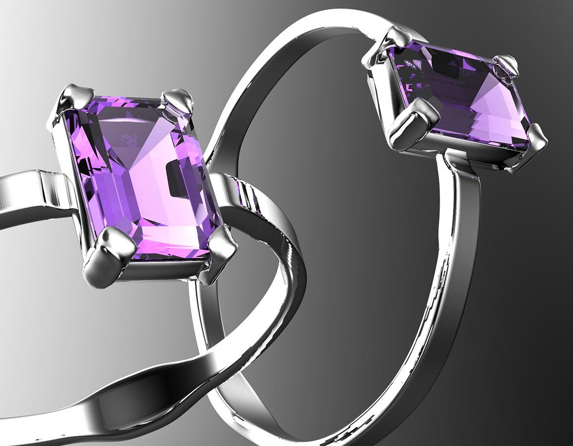 Myrna - prsten stříbro 925/1000' Velikost prstenu: 57