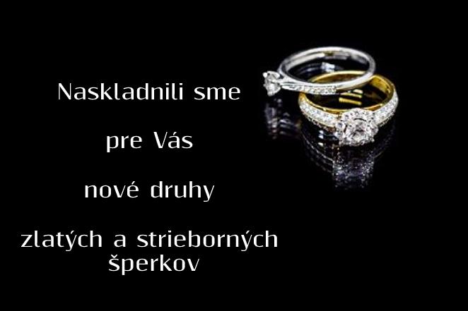 Nové druhy šperkov