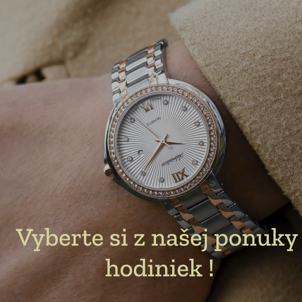 Ponuka hodiniek