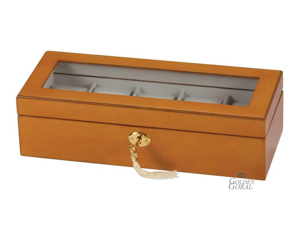 Drevený box na hodinky Jayden
