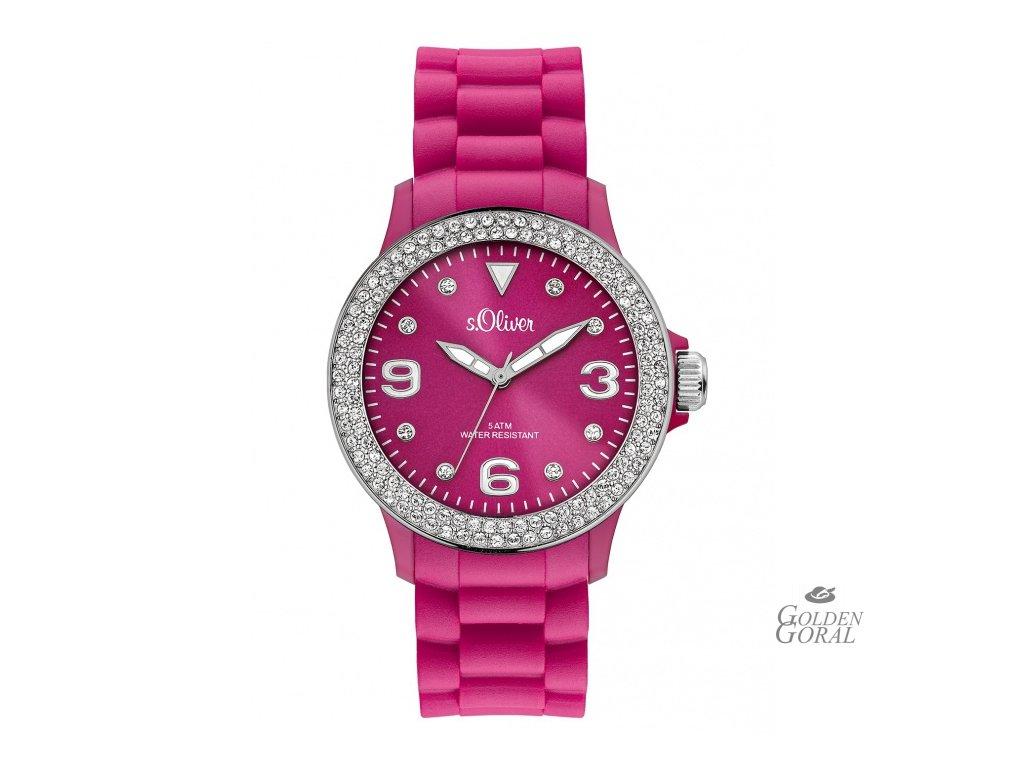 Silikónové hodinky s.Oliver