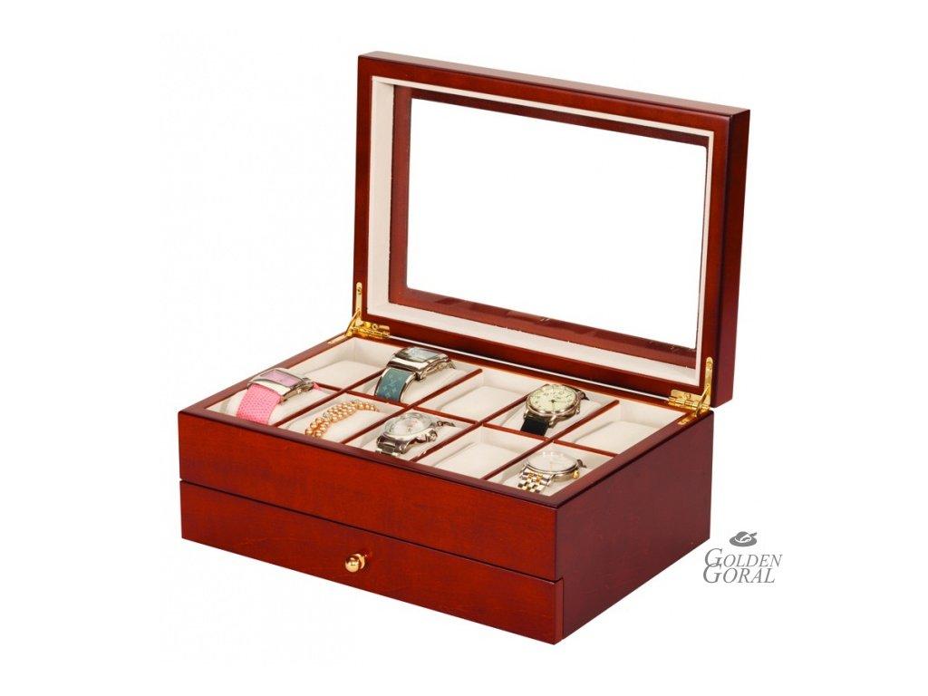 box na hodinky drevený  mele & co