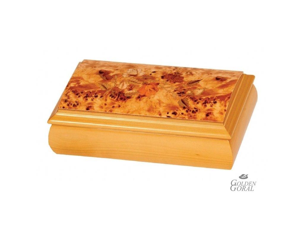 drevená hracia šperkovnica mele & co 1600 chelsea