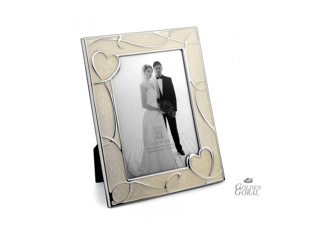 fotorámik, fotorámček, svadobný