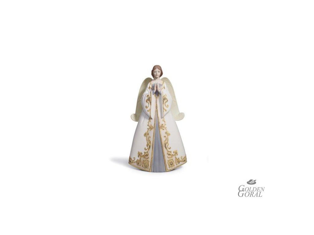 LLADRÓ Praying - Cantata (špic na vianočný stromček)