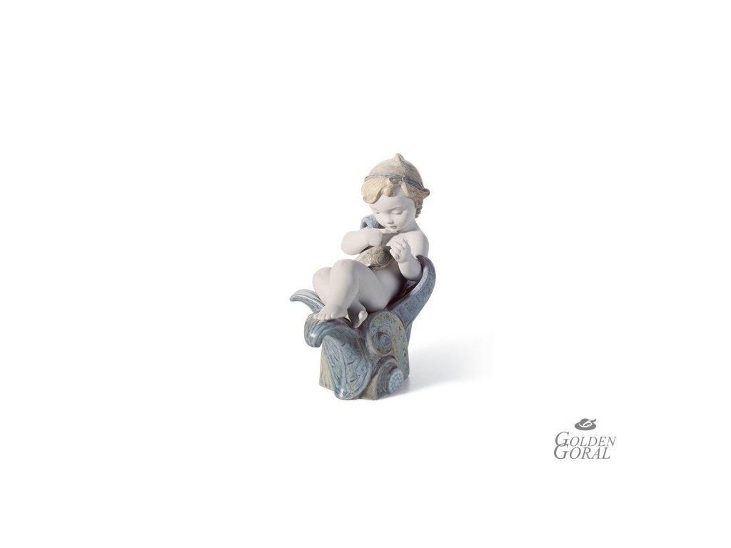 LLADRÓ Innate curiosity španielsky porcelán 01018227