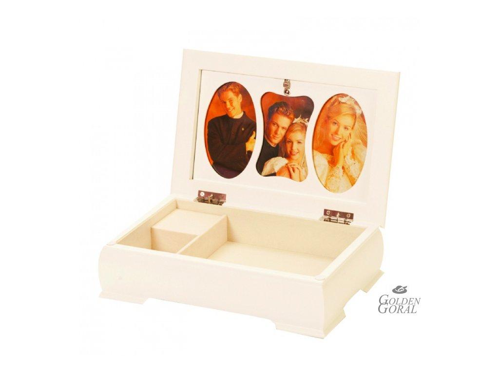 krabička na svadobné spomienky