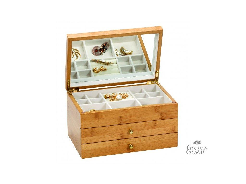 Drevená šperkovnica BRINEY Mele & Co 406