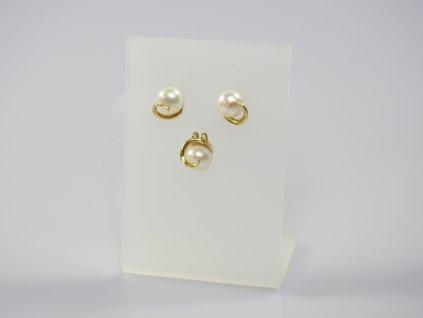 Zlatá súprava perly