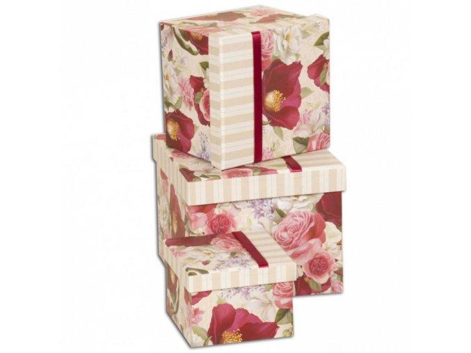 Darčekové krabice 3ks