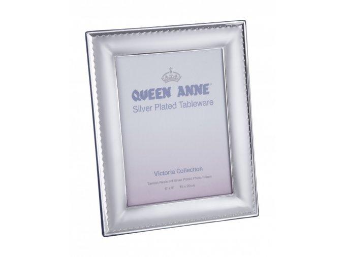 fotorámček z alpaky Queen Anne