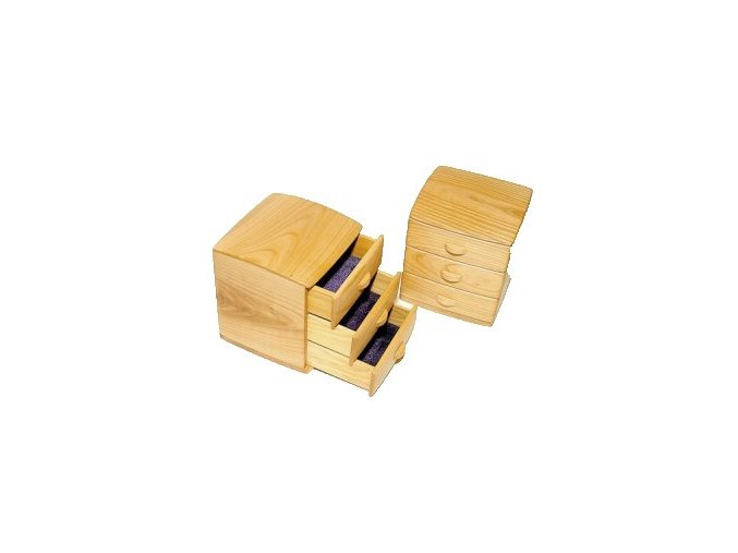 ručne vyrabana drevena sperkovnica