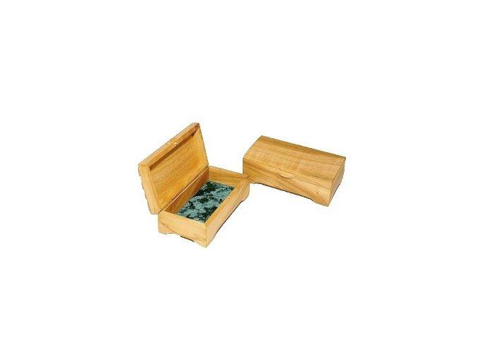 rucne vyrabana drevena sperkovnica olejovana