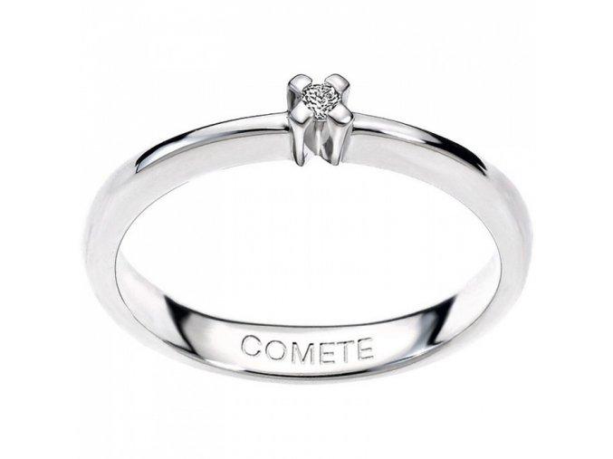 Diamantový snubný prsteň COMETE
