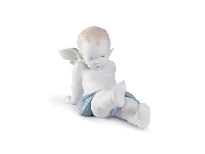 lladro Sitting on the clouds