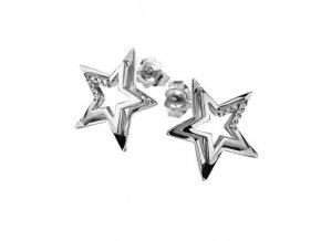 Diamantové náušnice Hviezda COMETE