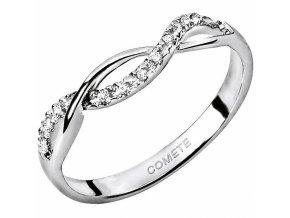 Diamantový zlatý prsteň COMETE