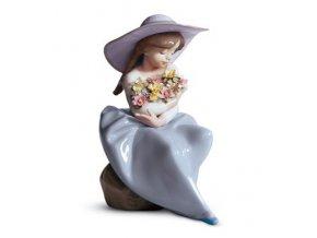 LLADRÓ Fragrant bouquet španielsky porcelán 01005862