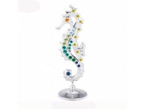 Swarovski crystals Morský koník