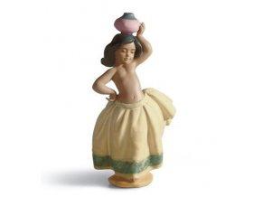 LLADRÓ Little peasant girl  - malá rolníčka